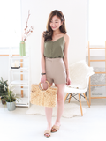Sonny Button Top in Olive