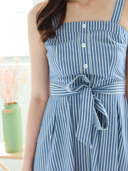 Andrea Striped Summer Dress