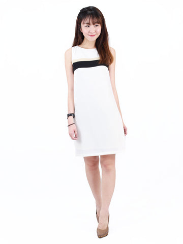 Yoona Tricolour Shift Dress