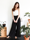 Ford Palazzo Pants in Black