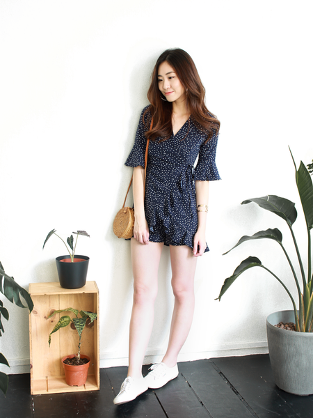 Keds Wrap Playsuit