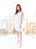 Rae Two-way Eyelet Dress