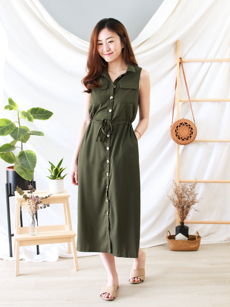 Maru Embroidered Dress