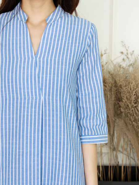 Anders Shirt Dress in Stripe | *MADEBYWC