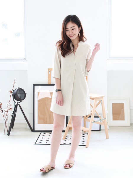 Anders Linen Shirt Dress | *MADEBYWC