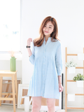 Jendall Relax Shirt Dress in Stripe