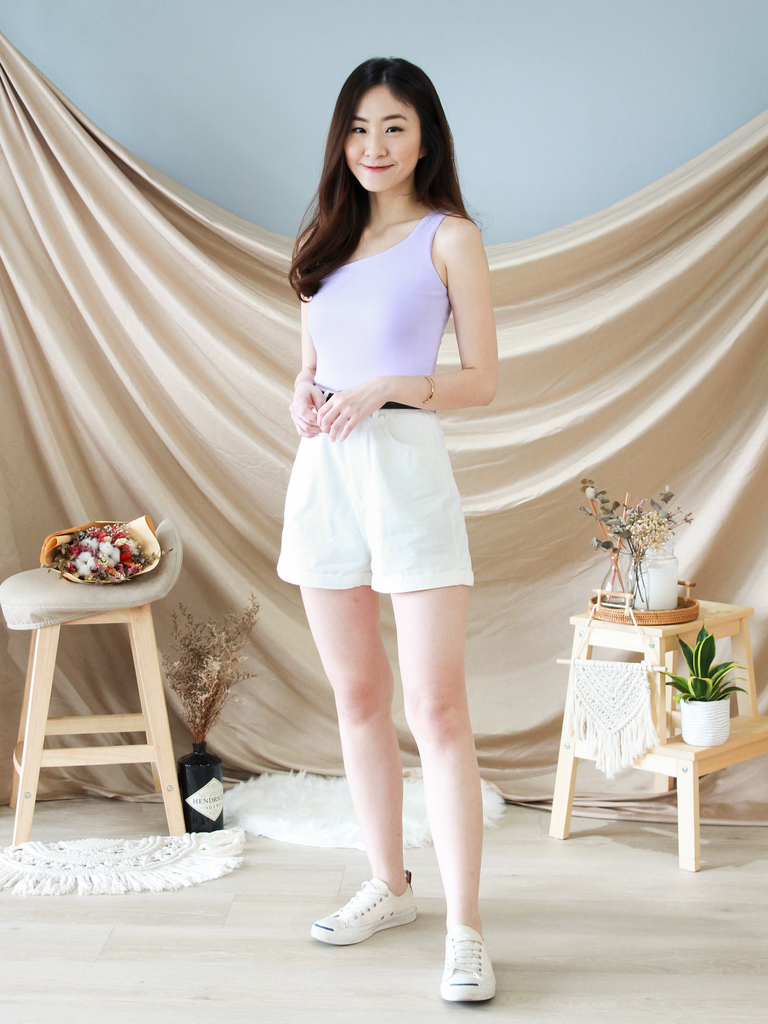 Reiko Toga Top in Lilac