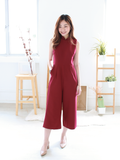 Mavis Detachable Collar Jumpsuit