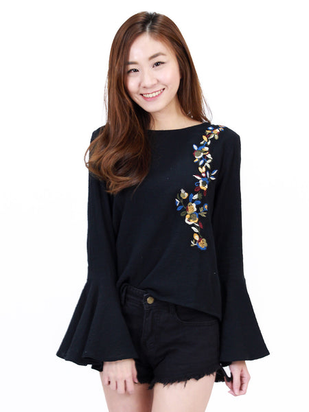 Diane Embroidery Top