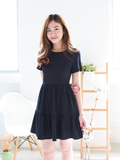 Elijah Pocket Dress in Navy
