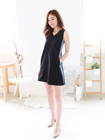 Emmett Tie-back Shift Dress