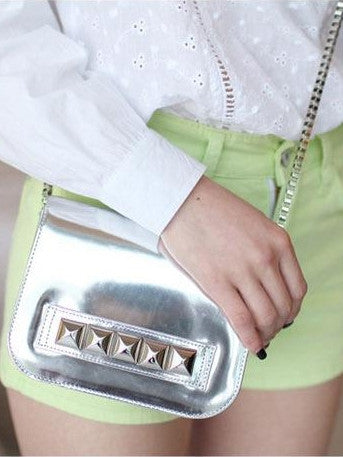 Silver Studded Sling