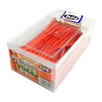 Fini Strawberry Pencils | Tub of 100 Pieces