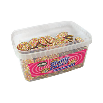 Alma Chocolate Skiffle Discs | 120 Pieces