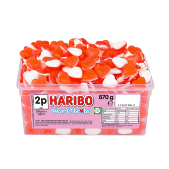 Haribo Heart Throbs x 300