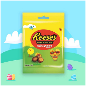 Reeses Peanut Butter Mini Creme Eggs Bag 70g