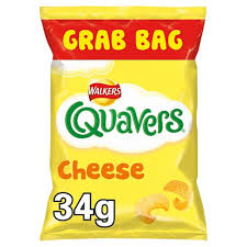 Quavers Cheese | Box of 30 Packets (34g)