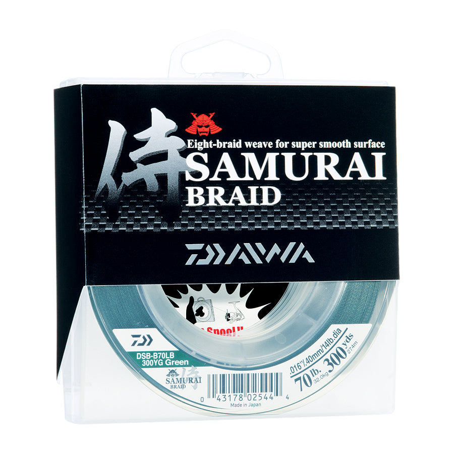 SAMURAI BRAIDED LINE-GREEN