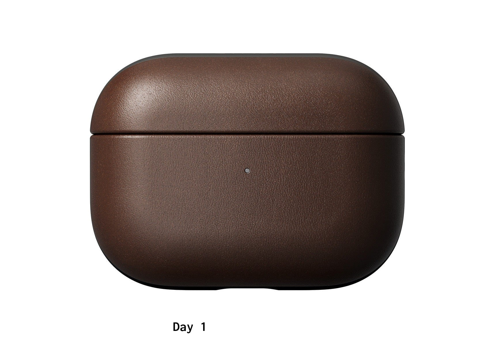 AirPod Rugged Case Horween leather on day one.