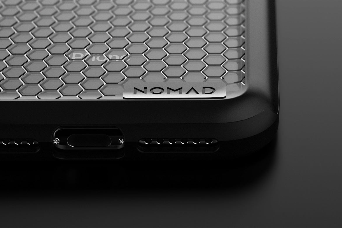 Poly Case Drop Protection Close Up