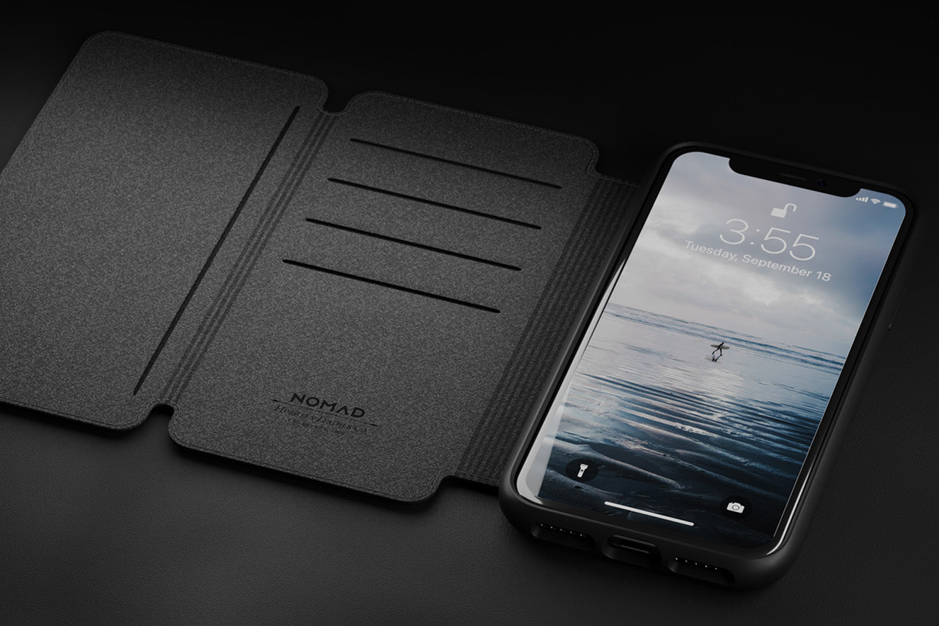 Rugged Tri-Folio case for Iphone