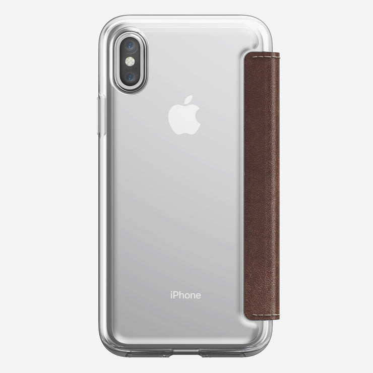 Clear Folio Case for iPhone X