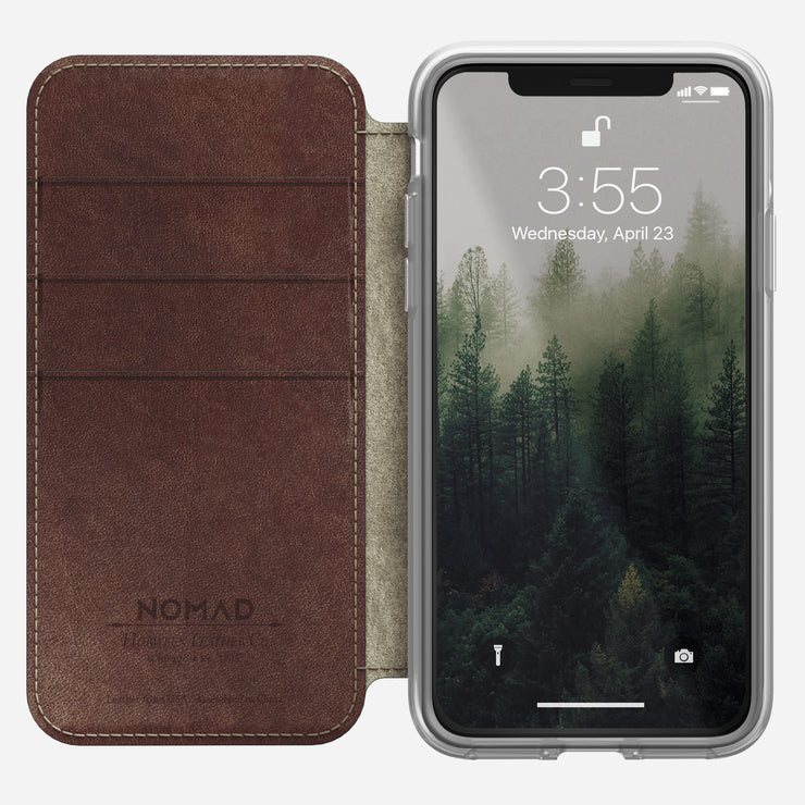 Nomad 174 Clear Folio For Iphone X