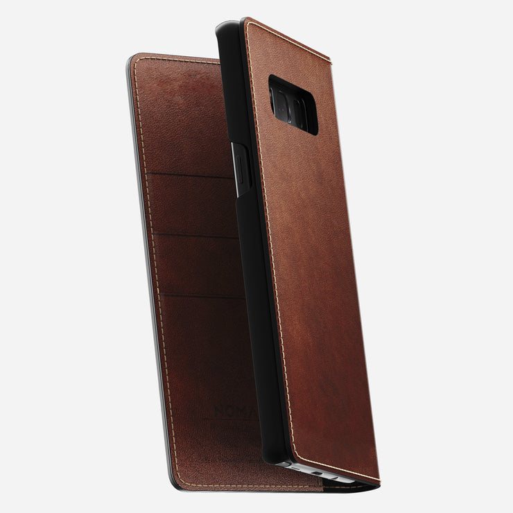 Nomad Leather Folio Wallet for Samsung Note 8 - Image 2