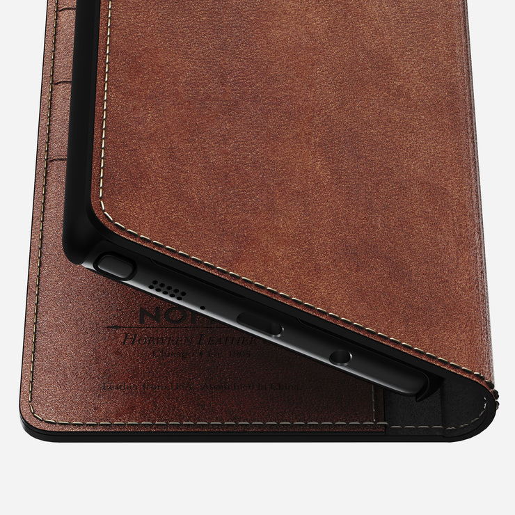 Nomad Leather Folio Wallet for Samsung Note 8 - Image 6