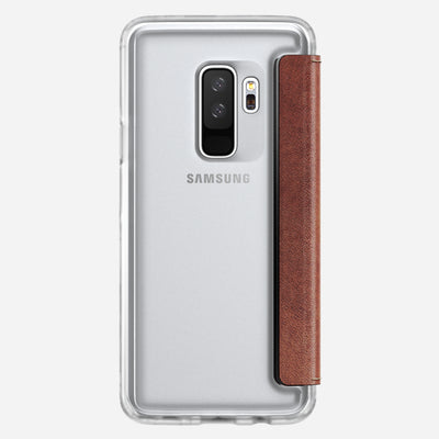 Clear Folio Case for Samsung S9 Plus