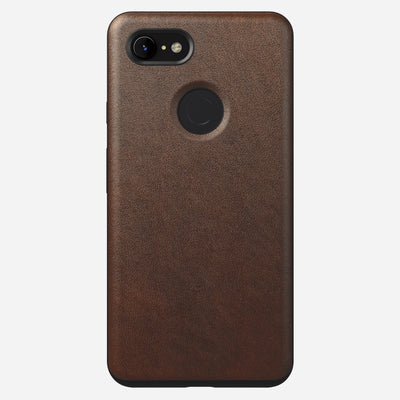 Rugged Leather Case for Pixel 3 Xl