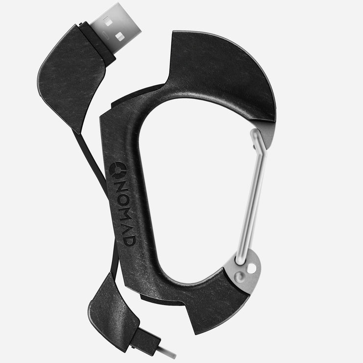 Carabiner and Helmet Clip Alloy and Stainless Steel
