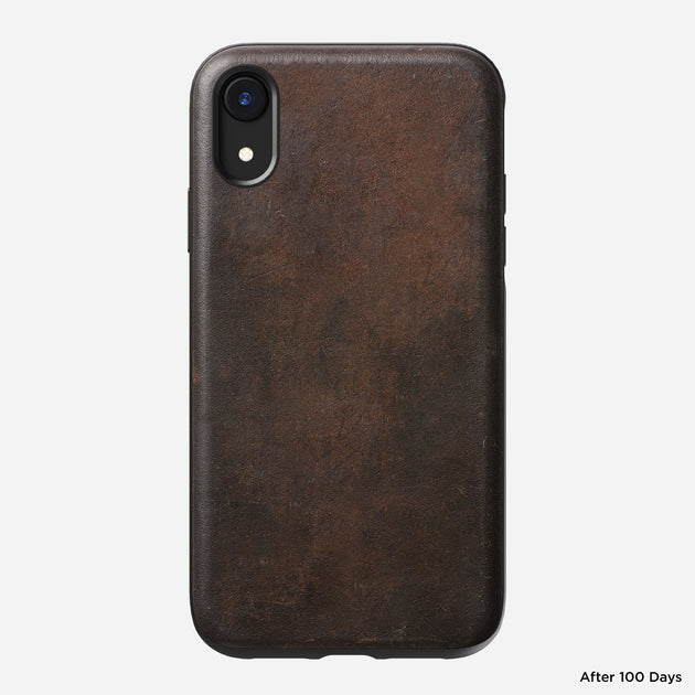 Nomad 174 Rugged Case For Iphone Xr Rustic Brown