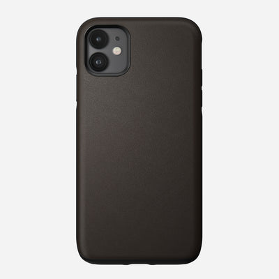Active Rugged Leather Case for iPhone 11, Mocha
