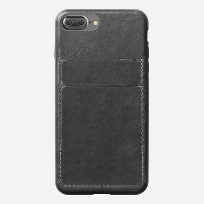 Nomad Leather Wallet Case for iPhone 8/7 Plus - Image 1