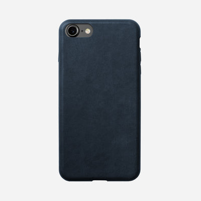 Nomad Blue Leather Case for iPhone 8/7 - Image 1