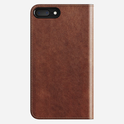 Leather Folio Case for iPhone 8/7 Plus