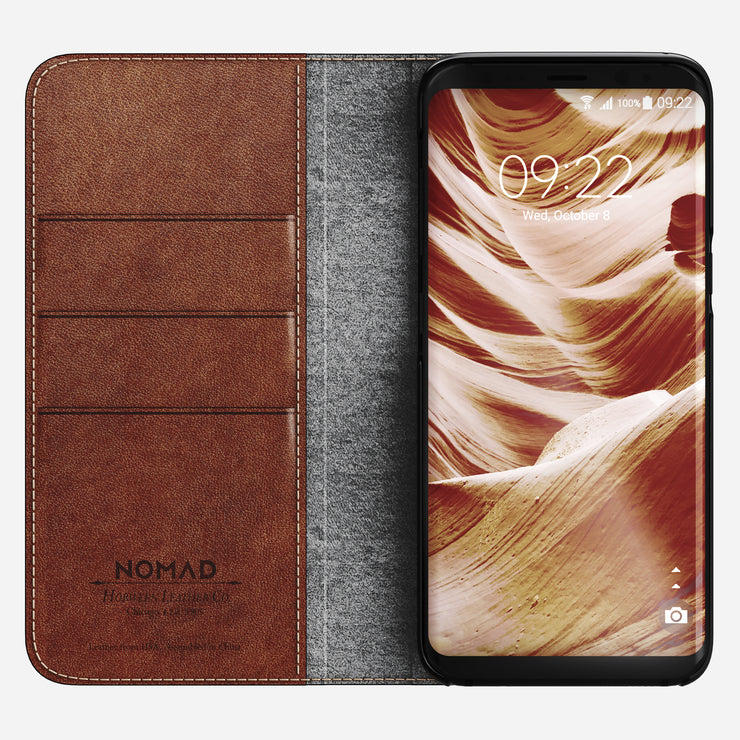 Nomad Leather Folio for Samsung S8 Plus - Image 4