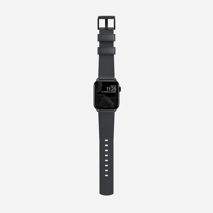 Nomad Gray Modern Leather Strap - Image 3