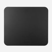 Gray Leather Mouse Pad