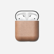 Natural Leather Airpods Case