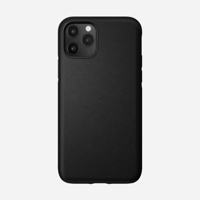 Active Rugged Leather Case for iPhone 11 Pro, Black