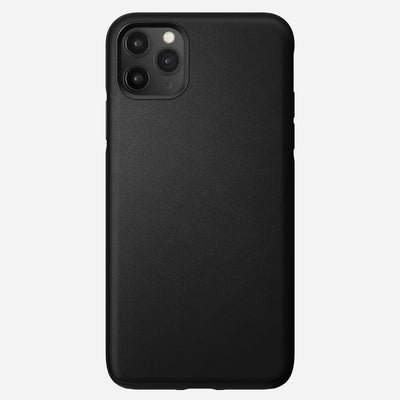 Active Rugged Leather Case for iPhone 11 Pro Max, Black