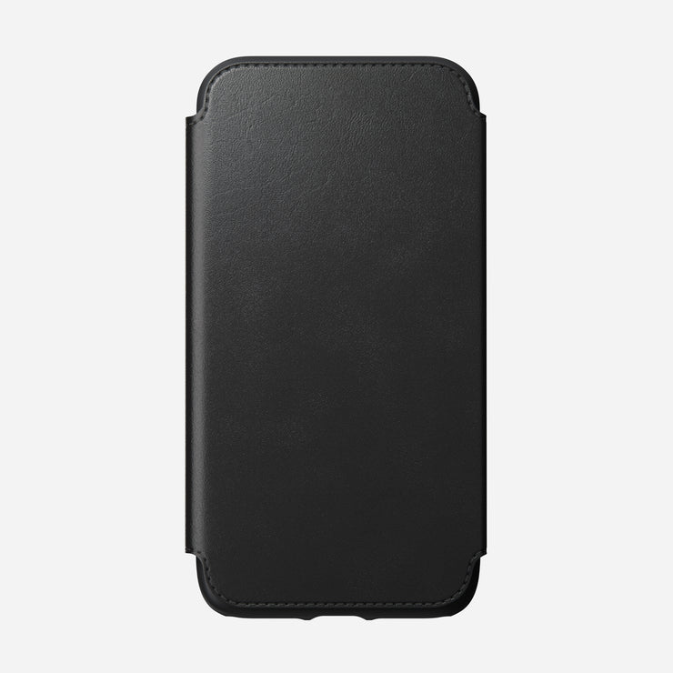 Nomad 174 Rugged Tri Folio In Black Leather For Iphone 11 Pro