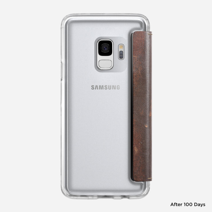 Nomad 174 Clear Folio For Samsung S9