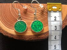 Load image into Gallery viewer, *Green Art Earrings* - Dangle