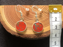 Load image into Gallery viewer, *Red Art Earrings* - Dangle
