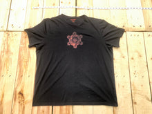 Load image into Gallery viewer, XL Black Sacred Geometry T-shirt One of a Kind