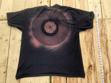 Load image into Gallery viewer, XXL Dark Blue Sacred Geometry T-shirt One of a Kind