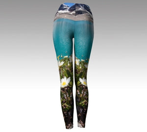 """Reflection"" ~ Yoga Leggings Made in Canada"